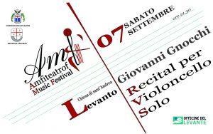 Giovanni Gnocchi - Recital per violoncello solo @ Chiesa di Sant'Andrea