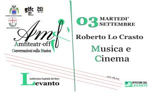 Amfiteatr-off: Roberto Lo Crasto - Musica e Cinema @ Auditorium Ospitalia del Mare