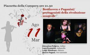 Beethoven Paganini/ Protagonisti della rivoluzione musicale
