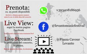 Levanto Music Festival - Amfiteatrof 2020: Resilienza Furibonda / Covid Edition