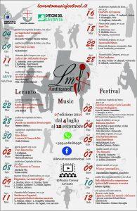 Locandina Levanto Music Festival 2020